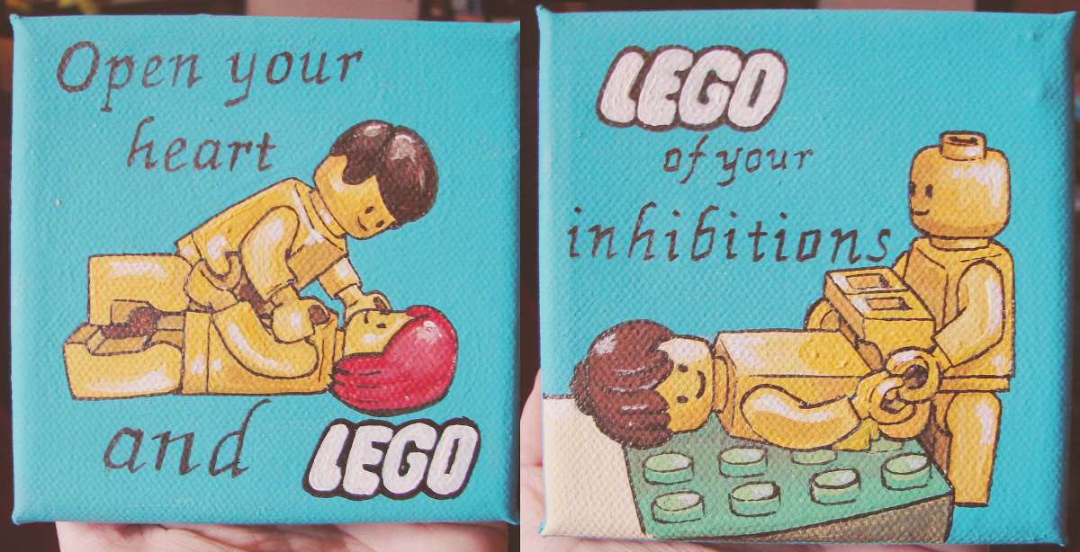 lego paintings